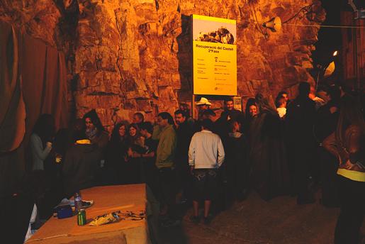 Espectacle al Castell